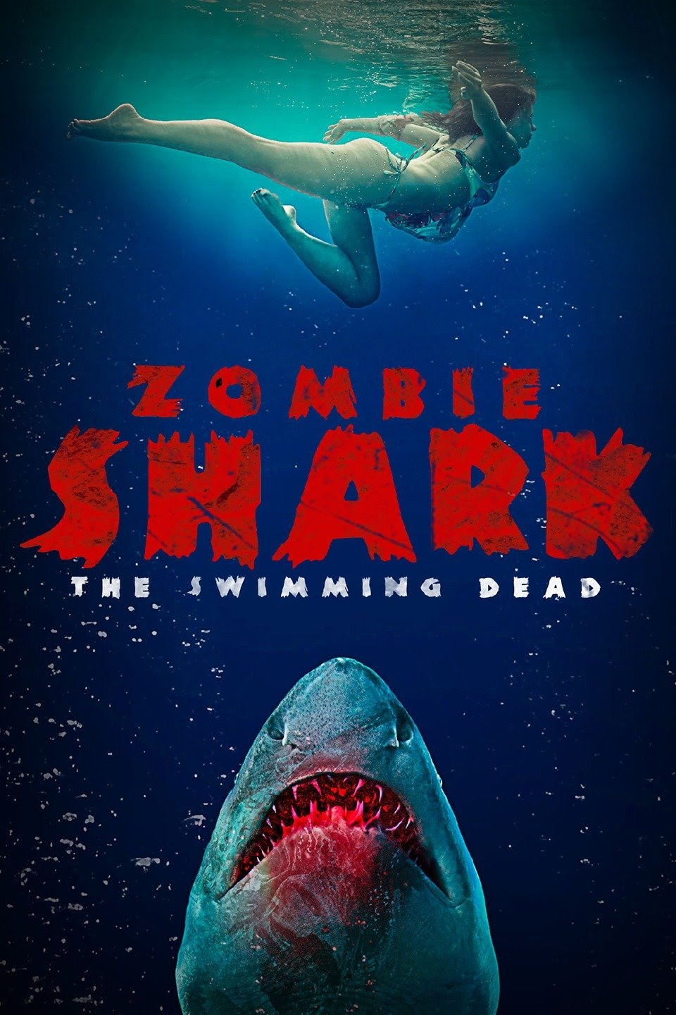 Zombie Shark 2015 Hindi Dual Audio 330MB UNRATED BluRay ESub Download