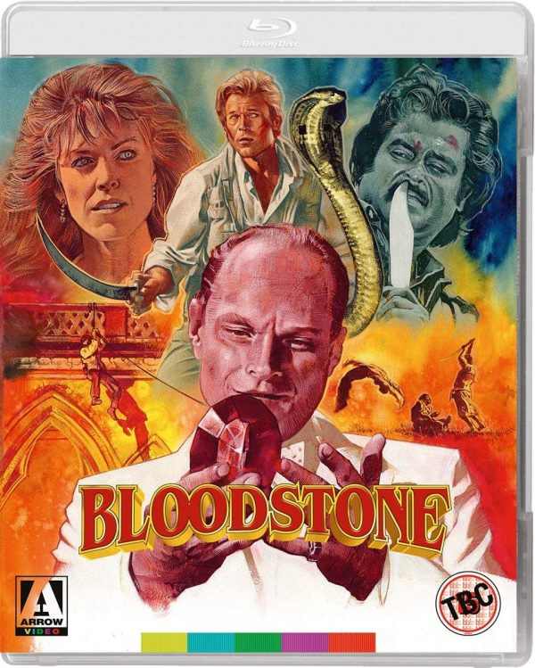 Bloodstone 1988 Hindi Dual Audio 720p BluRay ESub 950MB x264 AAC