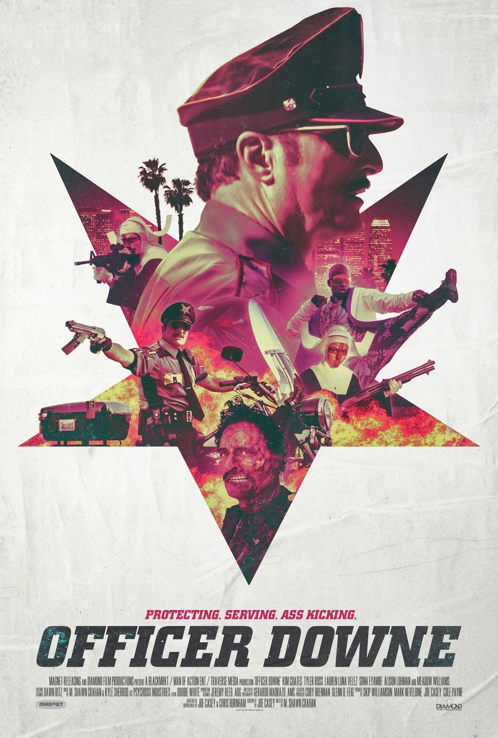 18+ Officer Downe 2016 English 300MB BluRay Download