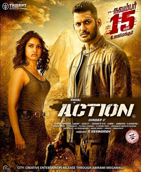 Action 2020 Hindi Dubbed 480p HDRip 450MB Download