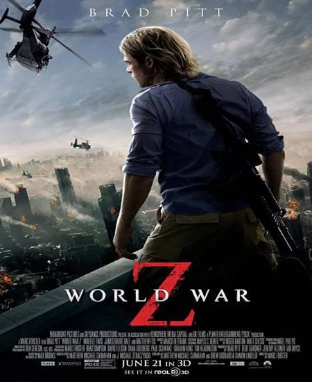 World War Z 2013 Dual Audio Hindi 1080p Bluray x264 2.8GB Esubs