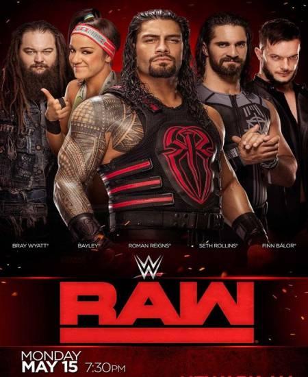 WWE Monday Night Raw (5 October 2020) English HDTV 480p | 720p HD