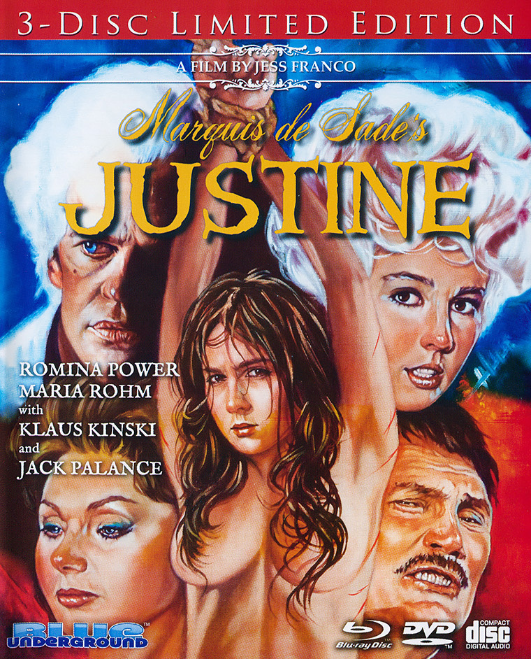 18+ Marquis de Sade's Justine 1969 English 4000MB BluRay