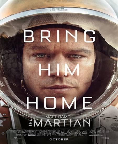 The Martian 2015 Dual Audio Hindi 1080p BluRay x264 1.8GB Esubs
