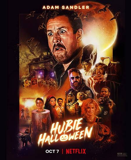 Hubie Halloween 2020 Dual Audio Hindi ORG 1080p NF HDRip x264 1.6GB ESub