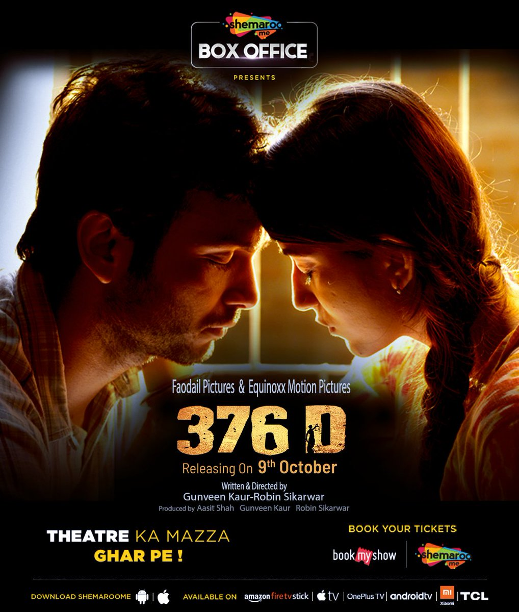 376 D (2020) Hindi Movie 480p HDRip 400MB x264 AAC
