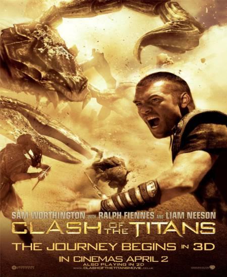 Clash of the Titans 2010 Dual Audio Hindi 1080p BluRay x264 1.6GB ESub