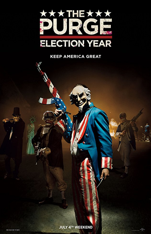 The Purge: Election Year 2016 Hindi Dual Audio 350MB BluRay ESub Download