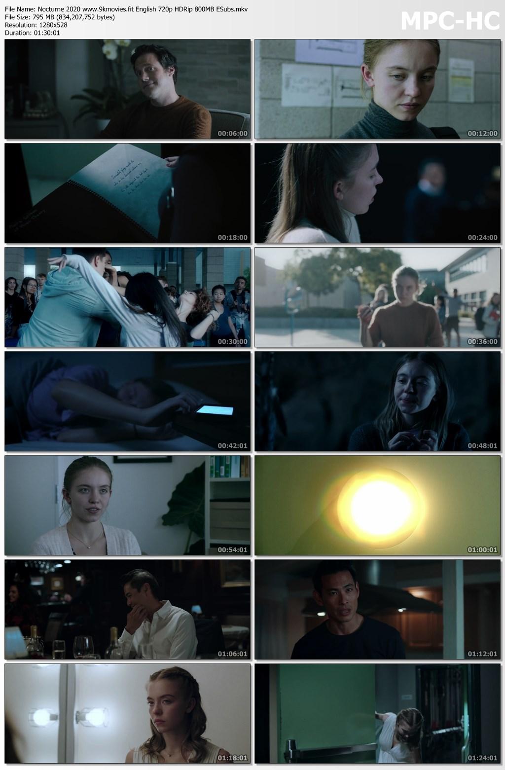 Nocturne 2020 screenshot HDMoviesFair