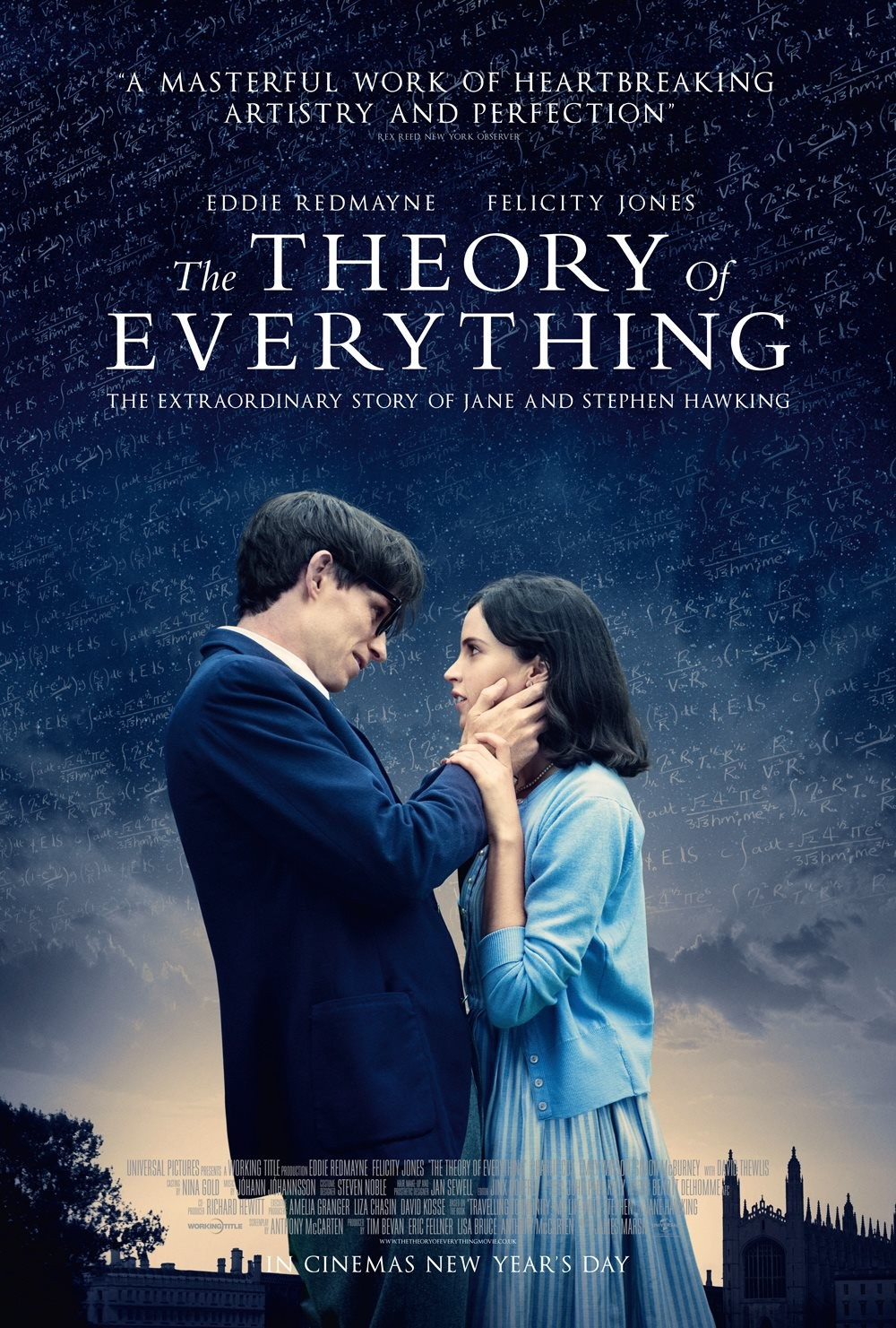 The Theory of Everything (2014) Hindi ORG Dual Audio 480p BluRay ESubs 400MB