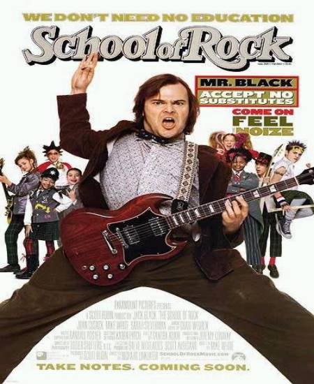 School of Rock 2003 Dual Audio Hindi ORG 480p BluRay x264 ESubs 300MB Download