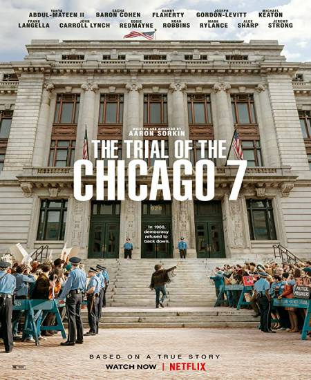 The Trial of the Chicago 7 2020 [English] HDRip 480p | 720p HD ESubs