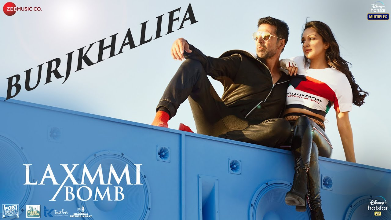 Burjkhalifa (Laxmmi Bomb 2020) Hindi Video Song 1080p HDRip 111MB Download