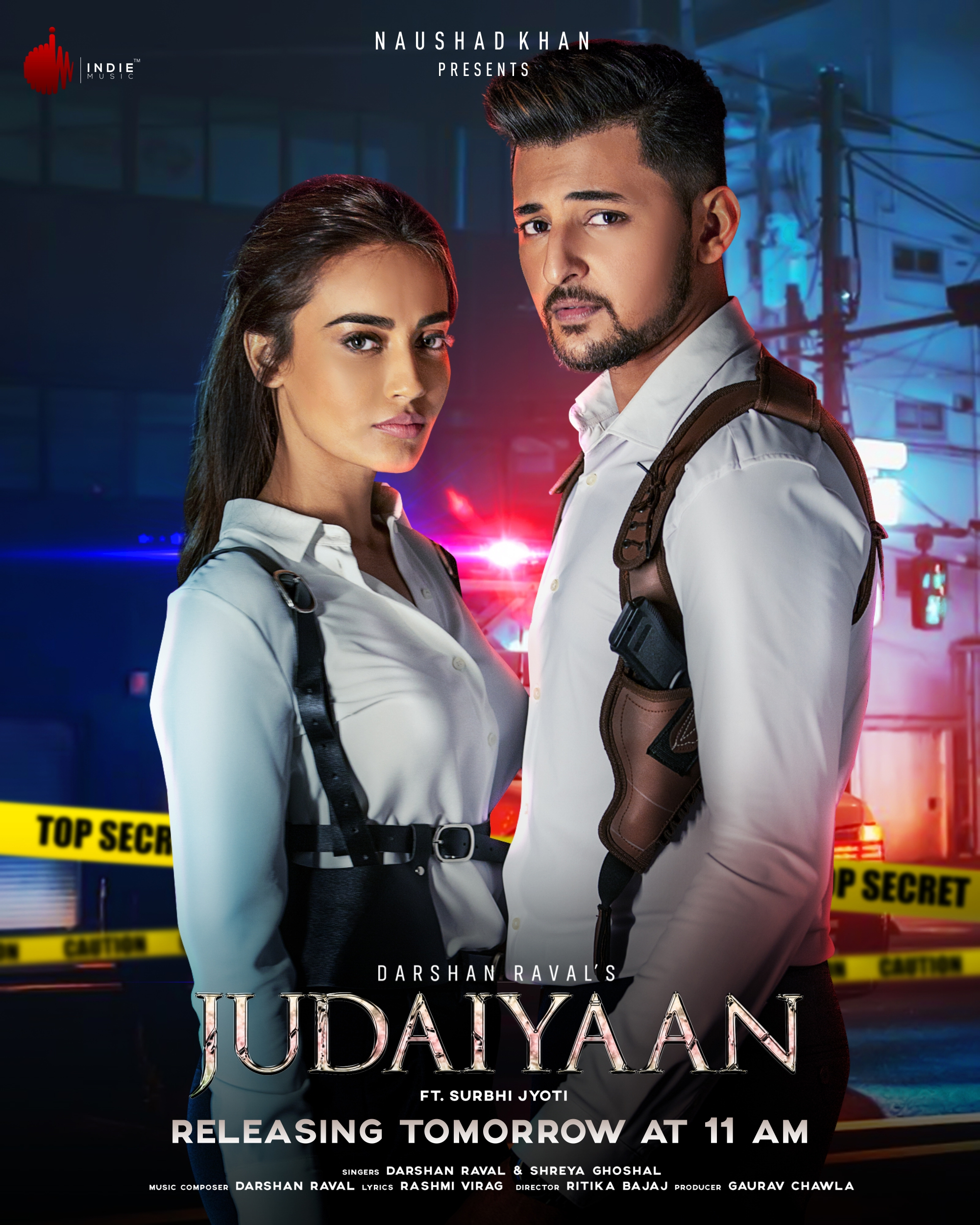 Judaiyaan By Darshan Raval Official Music Video 1080p HDRip 34MB Download
