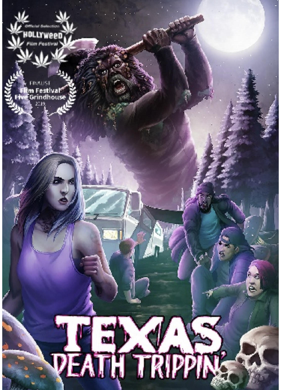 Texas Death Trippin 2020 English 720p AMZN HDRip 800MB Download