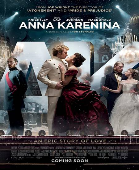 Anna Karenina 2012 Dual Audio Hindi ORG 720p BluRay x264 ESubs 1.1GB Download