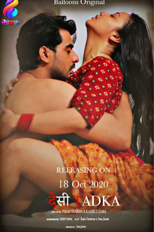 18+ Desi Tadka 2020 S01E01 Hindi Balloons Original Web Series 720p HDRip 200MB Download