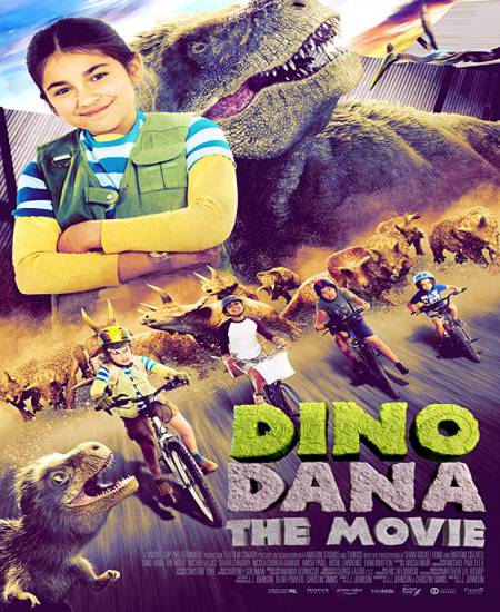 Dino Dana The Movie 2020 English HDRip 480p | 720p HD