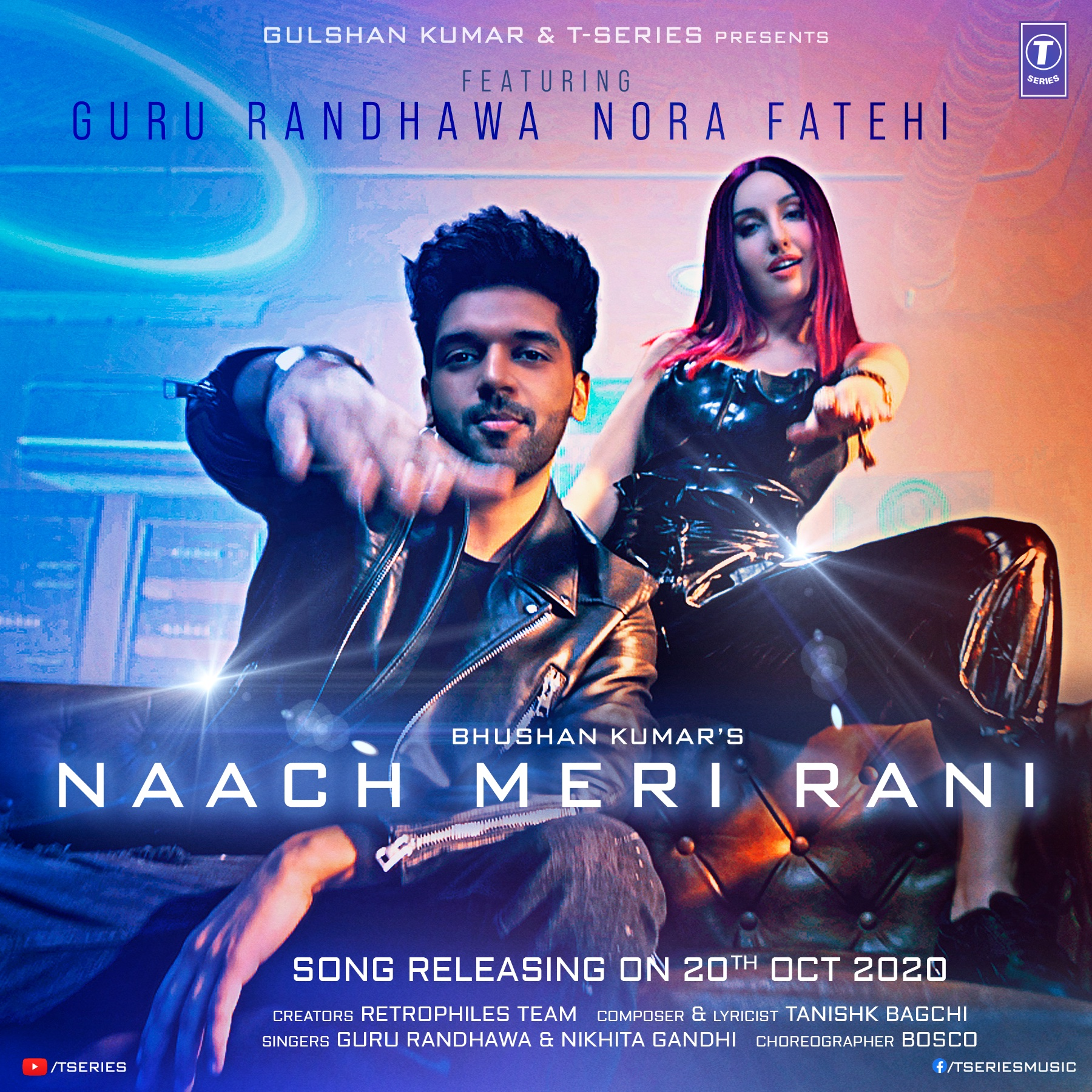 Naach Meri Rani By Guru Randhawa Official Music Video 1080p HDRip 59MB Download