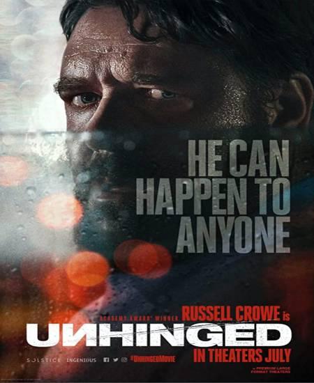 Unhinged 2020 English HDRip 480p | 720p HD
