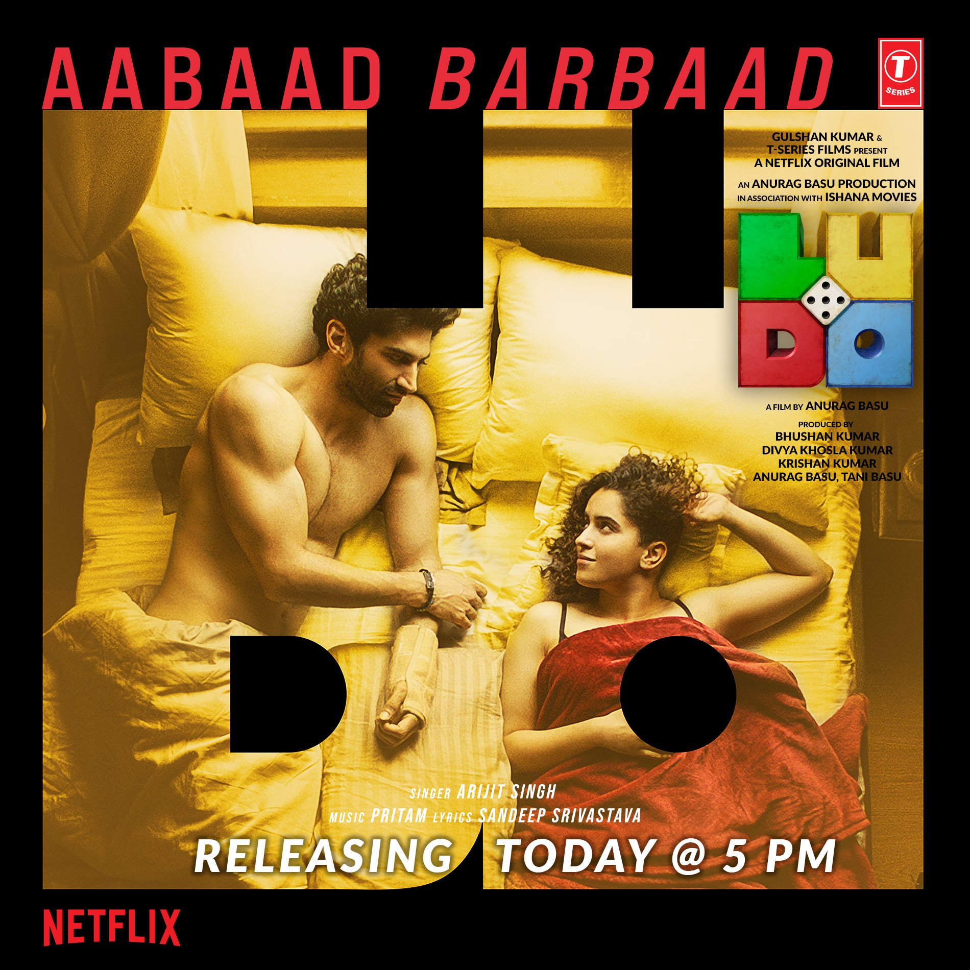 Aabaad Barbaad (Ludo 2020) By Arijit Singh Hindi Video Song 1080p HDRip Free Download