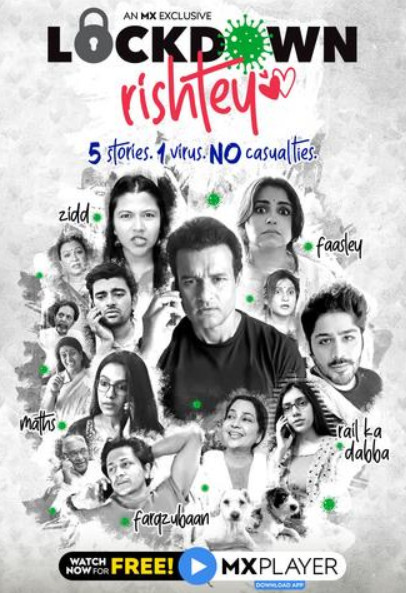 Lockdown Rishtey S01 2020 Hindi MX Original Web Series 400MB HDRip Download
