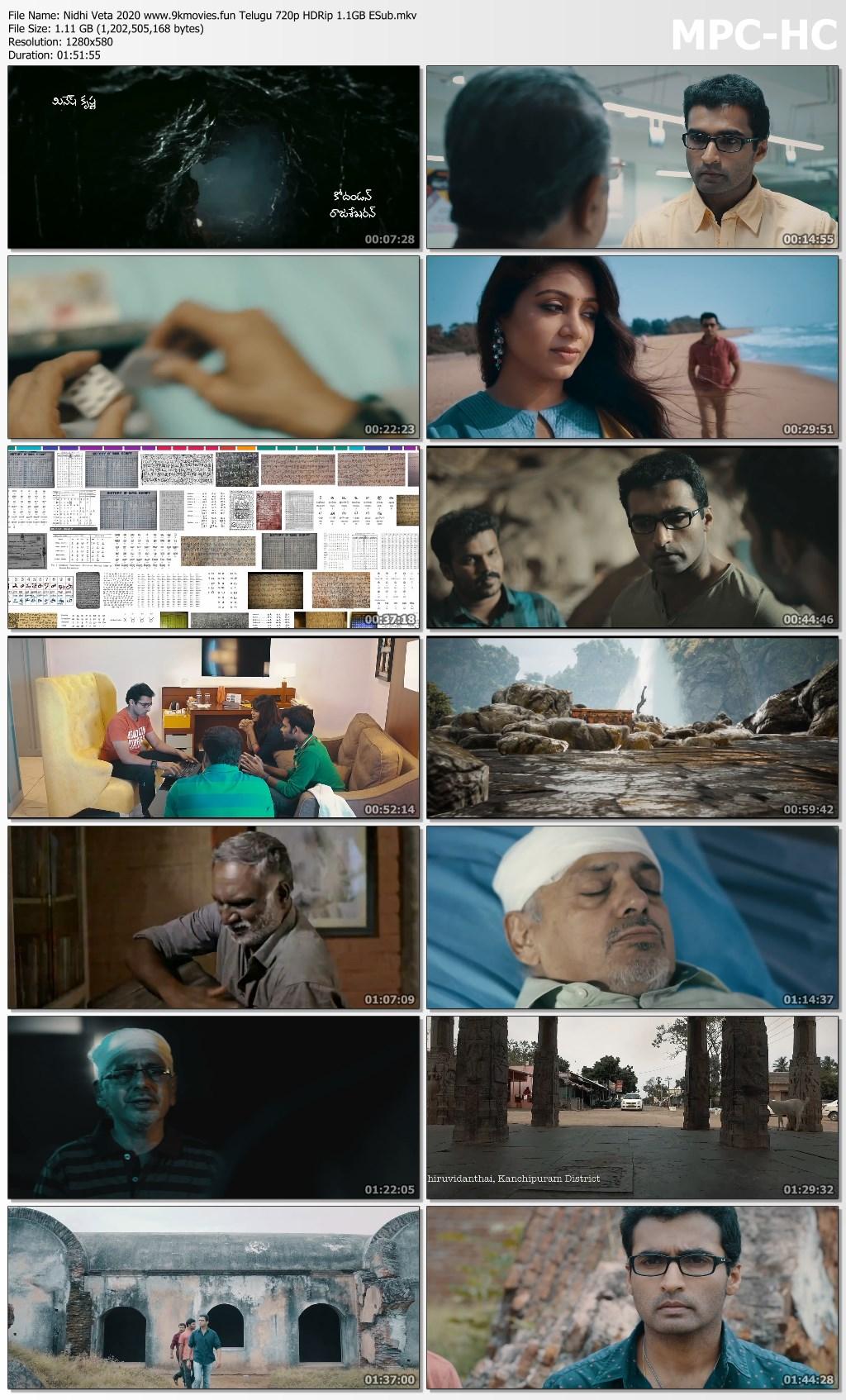 Nidhi Veta 2020 Telugu 720p HDRip 1115MB ESub Tamil Movies Download Link