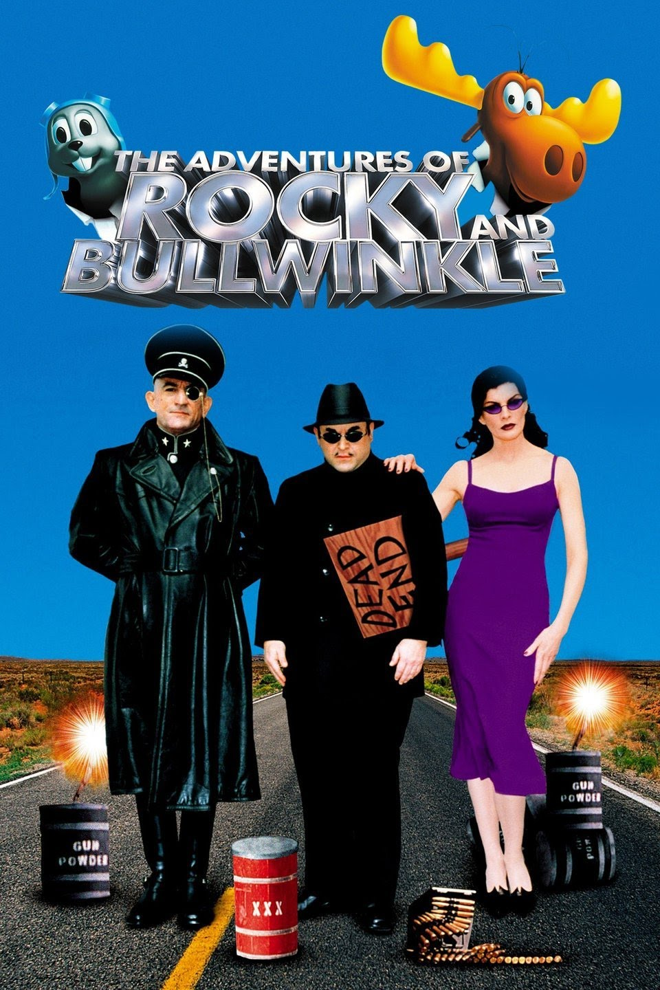 The Adventures of Rocky & Bullwinkle 2000 Hindi Dual Audio 720p BluRay 800MB Download