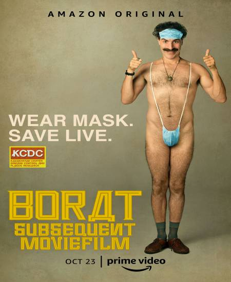 Borat Subsequent Moviefilm 2020 English 720p HDRip 800MB ESubs Download