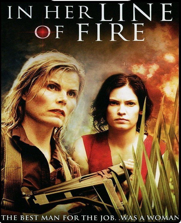 In Her Line of Fire 2006 Hindi Dual Audio 720p HDRip ESubs 950MB Download