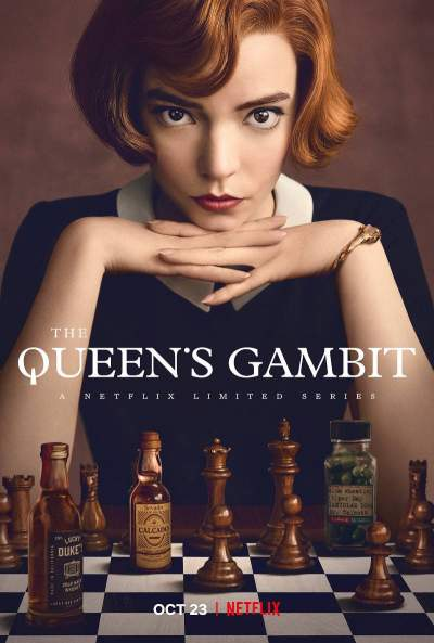 The Queens Gambit Season 1 2020 Hindi Complete Netflix Web Series 1.2GB HDRip Download