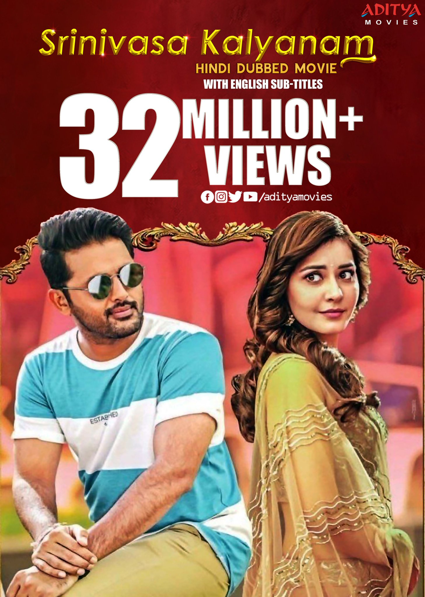 Srinivasa Kalyanam 2020 Hindi Dual Audio 800MB UNCUT HDRip Download