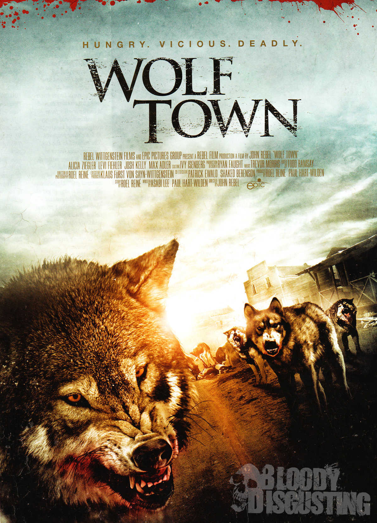 Wolf Town 2011 Dual Audio Hindi 720p HDRip ESub 950MB Free Download