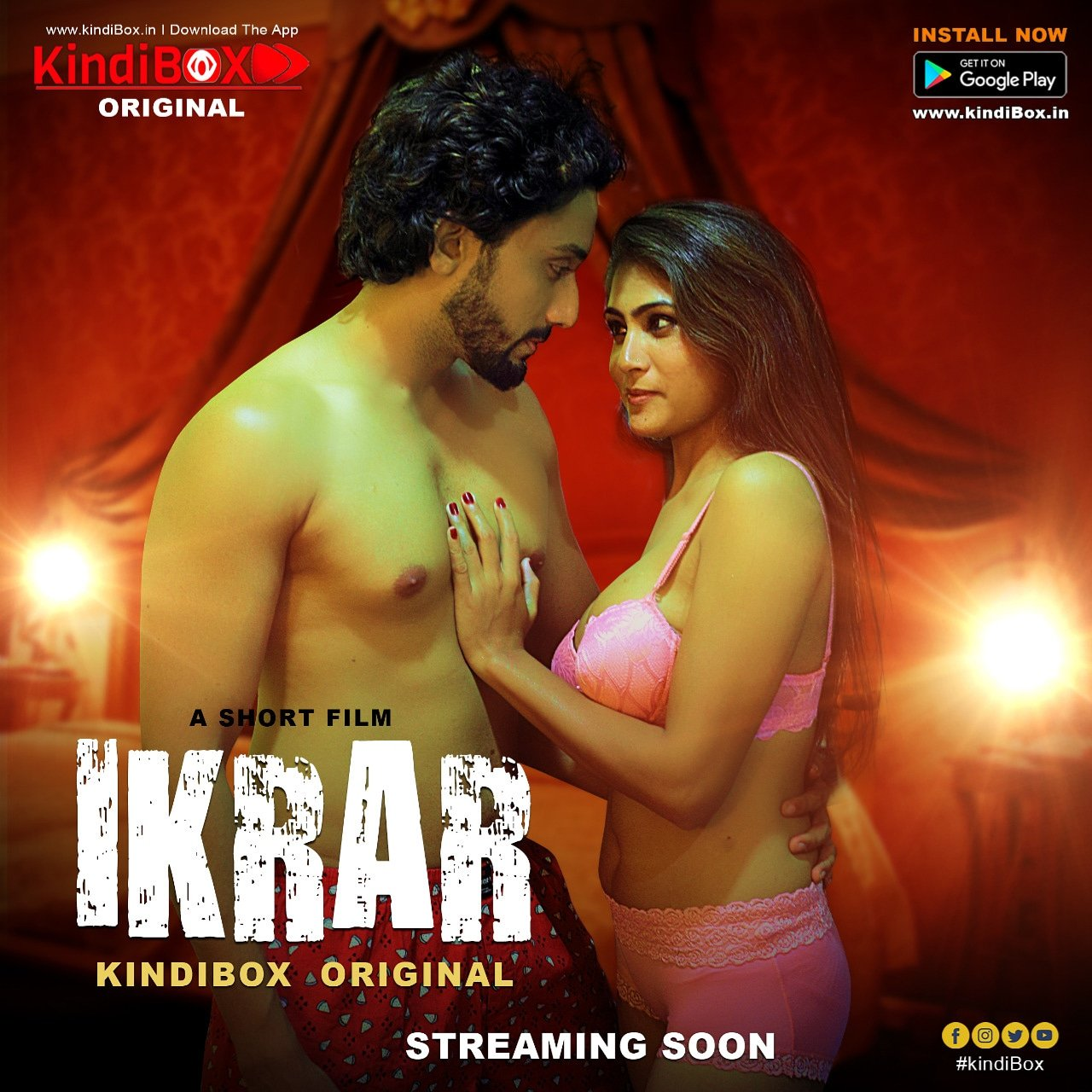 18+ Ikrar 2021 Hindi KindiBOX Original Short Film 720p HDRip 150MB x264 AAC