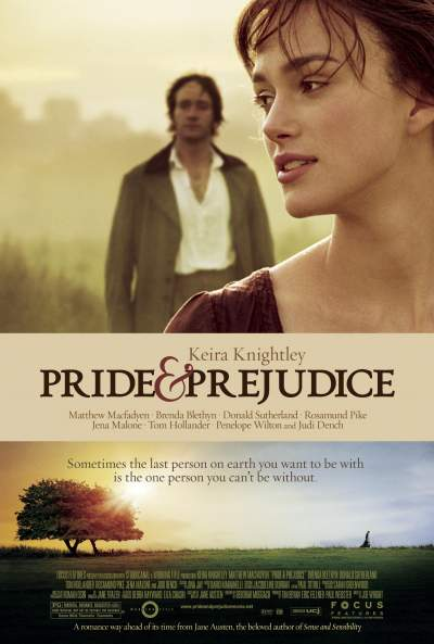 Pride & Prejudice 2005 Hindi Dual Audio 450MB BluRay Download