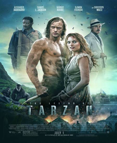 The Legend of Tarzan 2016 Dual Audio Hindi ORG 720p BluRay ESubs 800MB Download