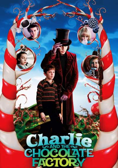 Charlie and the Chocolate Factory 2005 Hindi Dual Audio 400MB BluRay Download