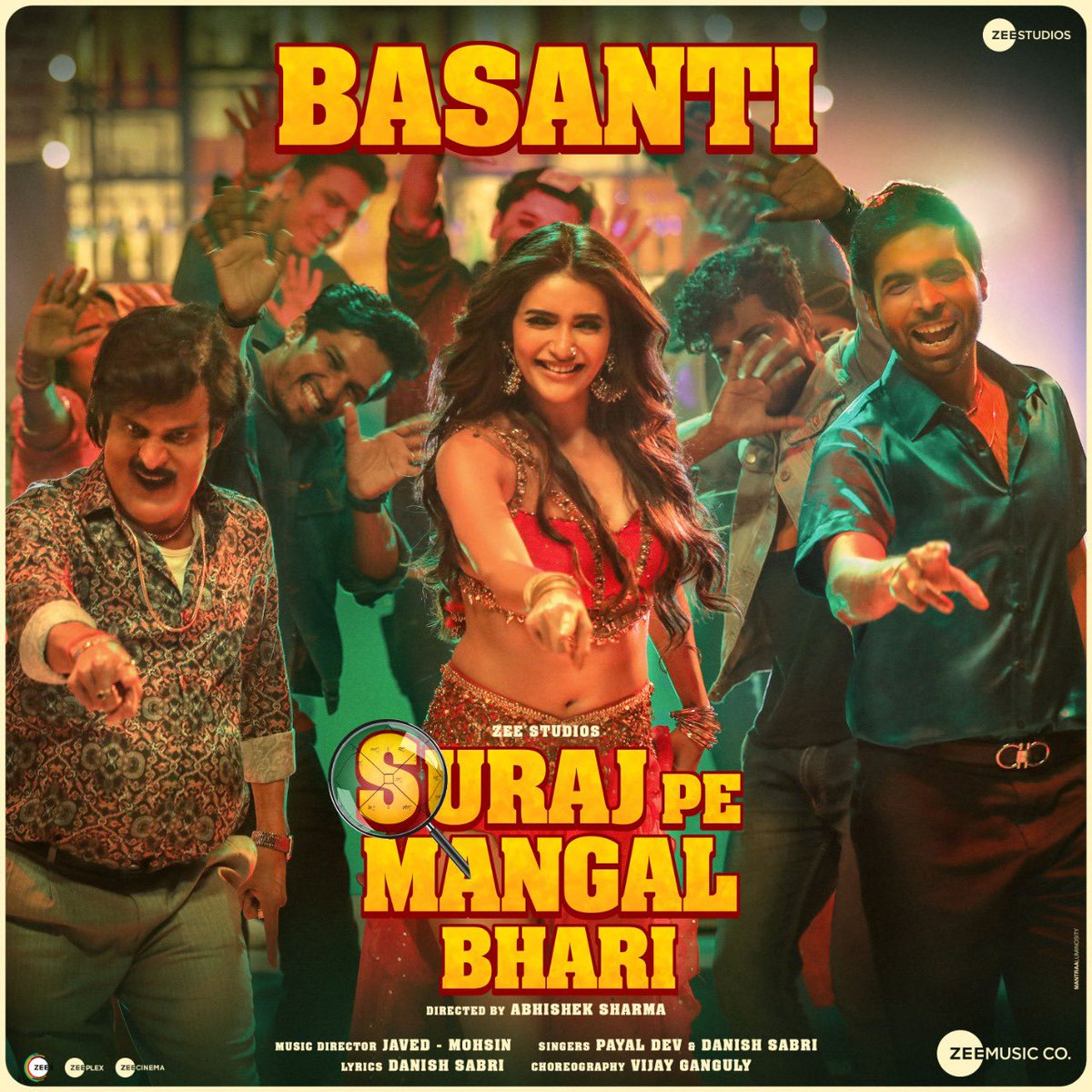 Basanti (Suraj Pe Mangal Bhari) 2020 Hindi Video Song 1080p HDRip Free Download