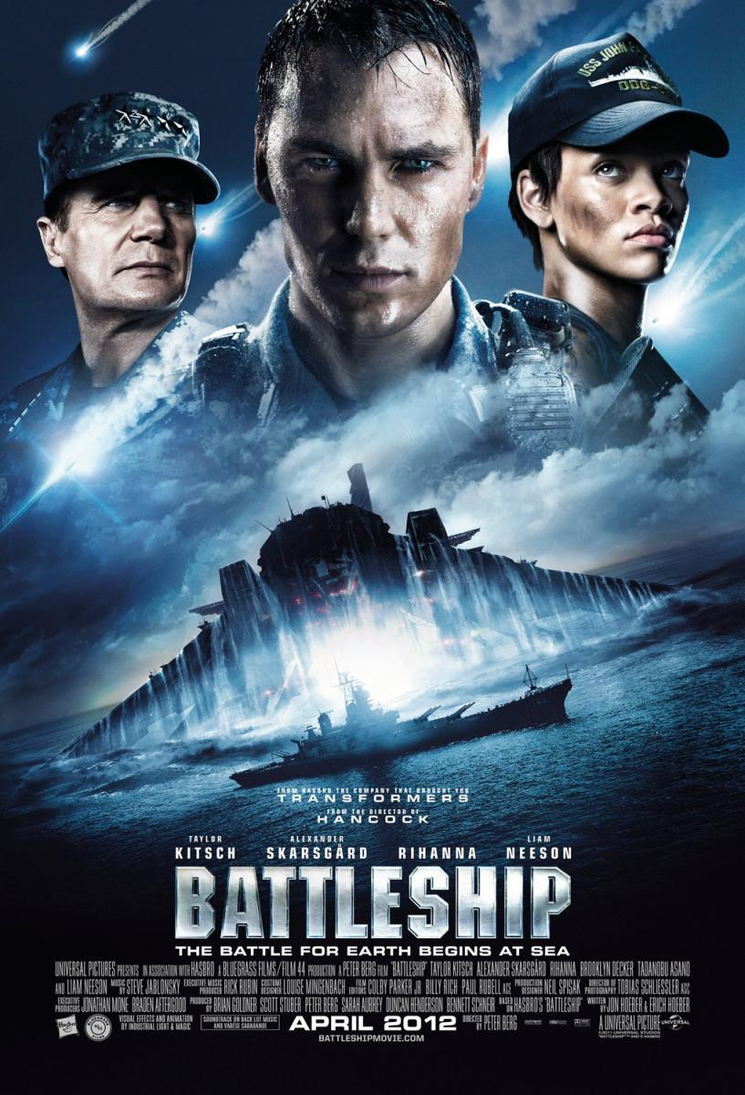 Battleship 2012 Hindi Dual Audio 460MB BluRay ESub Download