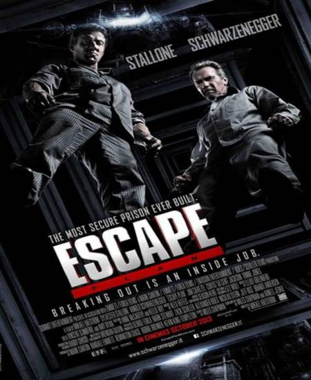Escape Plan 2013 Dual Audio Hindi 480p BluRay ESubs 500MB Download