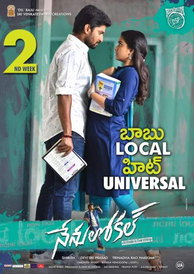 Nenu Local 2017 Hindi Dual Audio 720p UNCUT HDRip 1.4GB Download