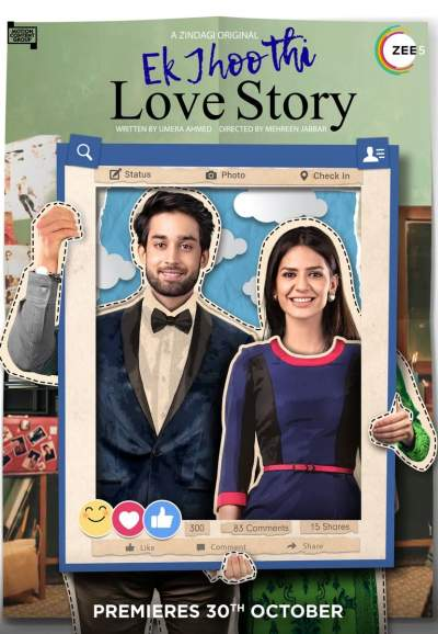 Ek Jhoothi Love Story 2020 Hindi Complete Zee5 Web Series 1.7GB HDRip Download