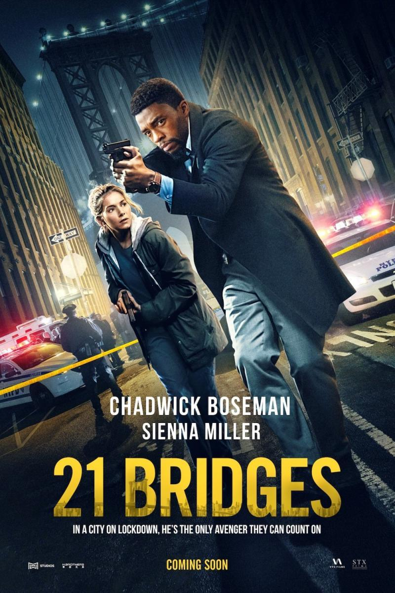 21 Bridges 2019 Hindi Dual Audio 1080p BluRay 1.9GB ESubs