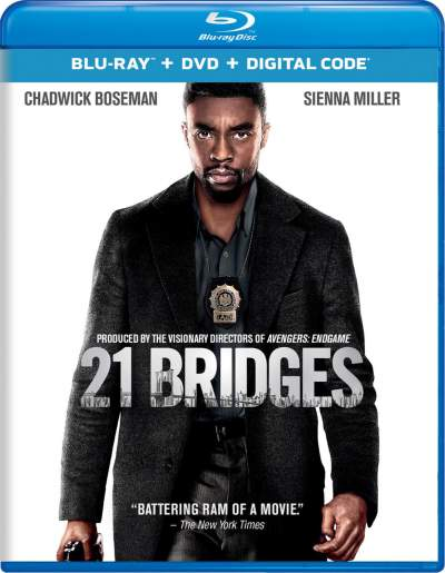 21 Bridges 2019 Hindi Dual Audio 720p BluRay 900MB ESubs Download