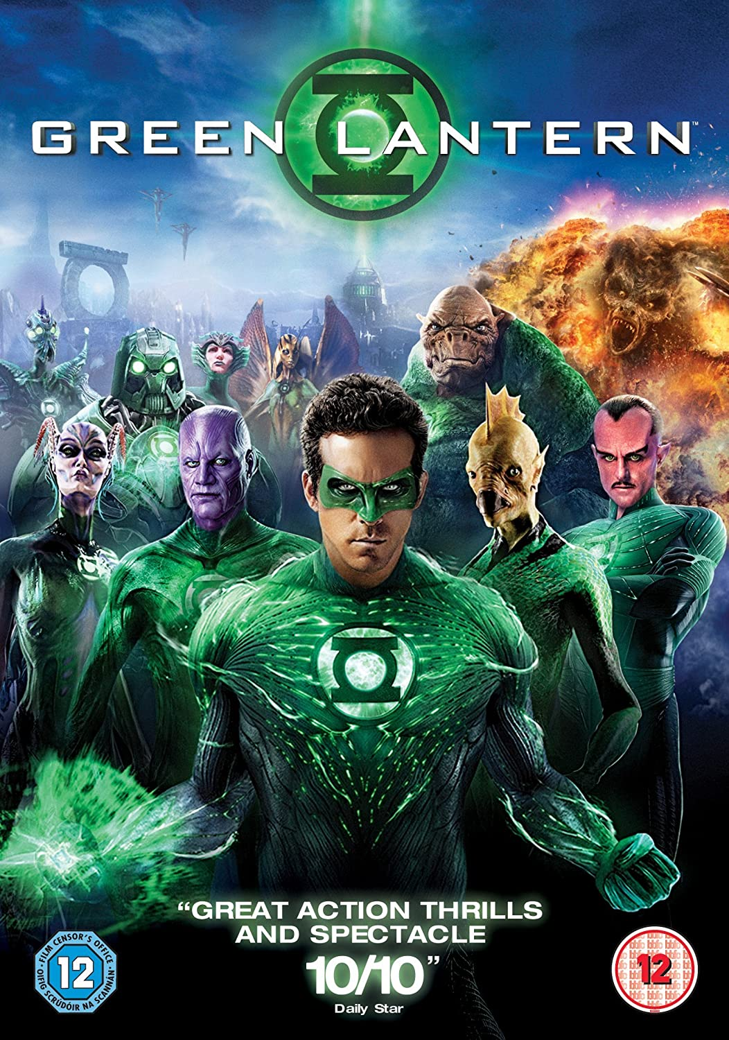 Green Lantern (2011) Dual Audio Hindi 400MB BluRay 480p x264 ESubs Free Download