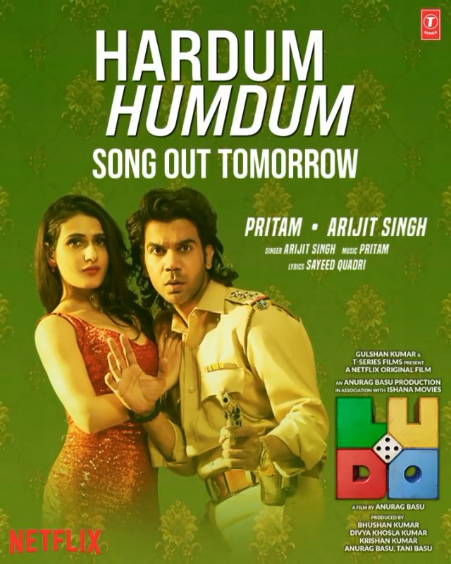 Hardum Humdum (Ludo 2020) Hindi Movie Video Song 1080p HDRip 72MB Download
