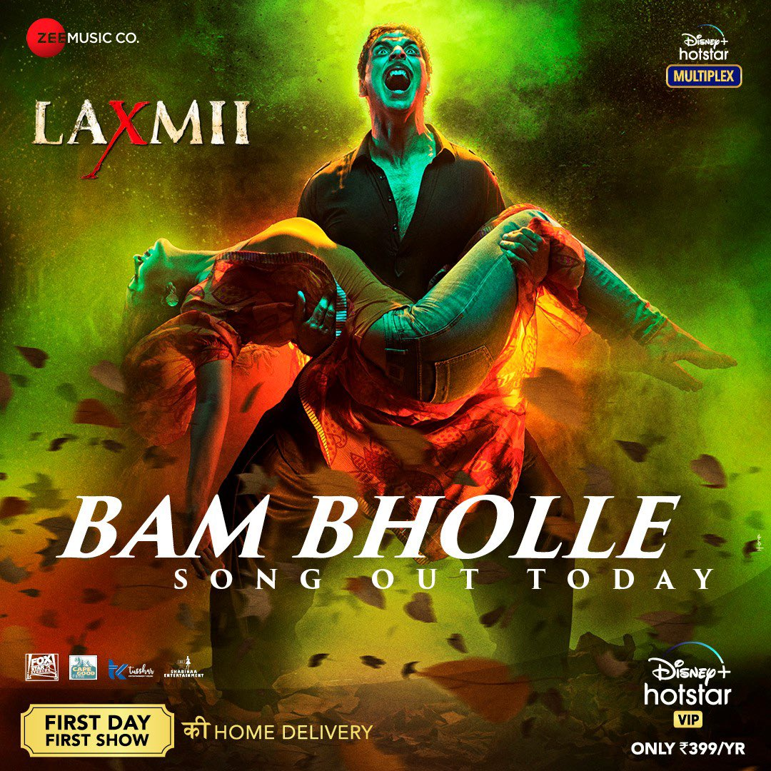 BamBholle (Laxmii 2020) Hindi Video Song 1080p HDRip 57MB Download