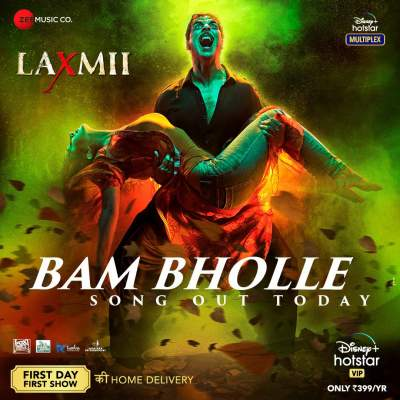 BamBholle (Laxmii 2020) Hindi Video Song 1080p HDRip Download