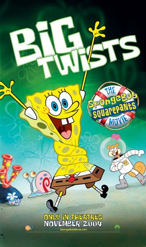 The SpongeBob SquarePants Movie 2004 Hindi Dual Audio 350MB BluRay Download