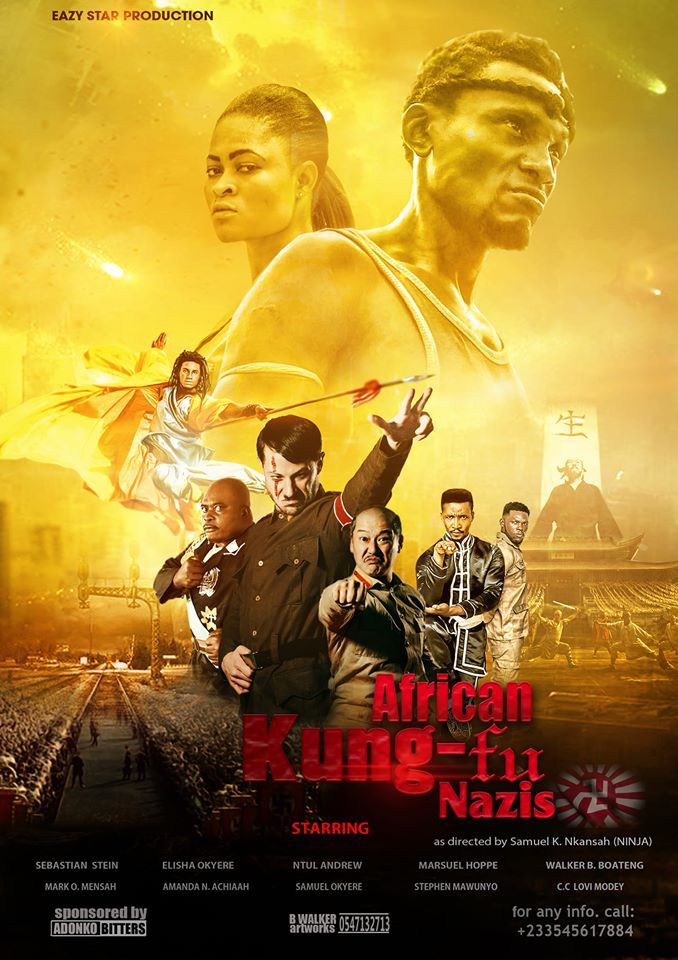 African Kung-Fu Nazis (2020) English 720p HDRip 800MB Download